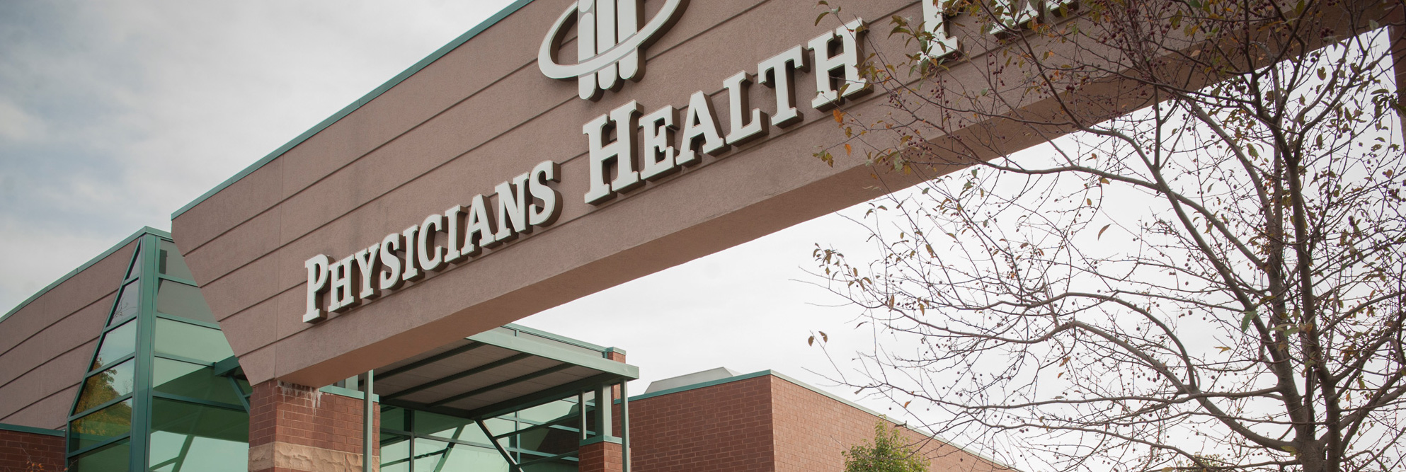 An external view of the Physicians Health Plan building in Fort Wayne, IN.
