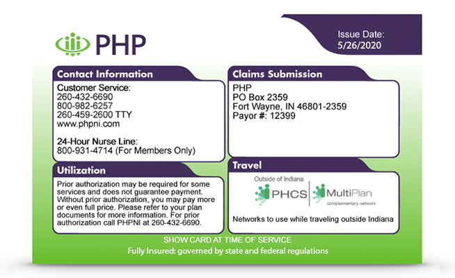 Php Health Insurance Member Physicians Health Plan