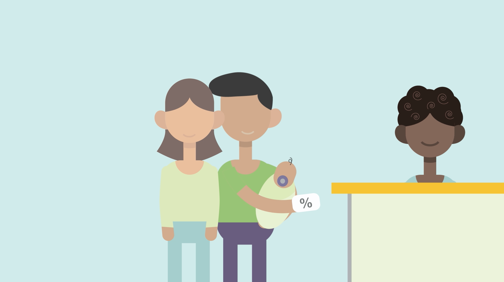This is an animated video explaining the difference between co-insurance and co-payment.